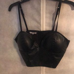 Black Corset (still in good condition)
